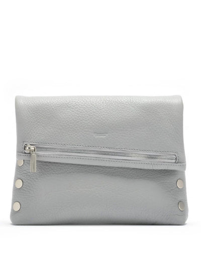 Hammitt | VIP Medium Bag in Mist Pebbled/Brushed Silver