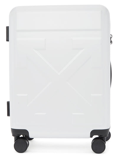OFF-WHITE | Arrows Trolley Carry-On Luggage, White