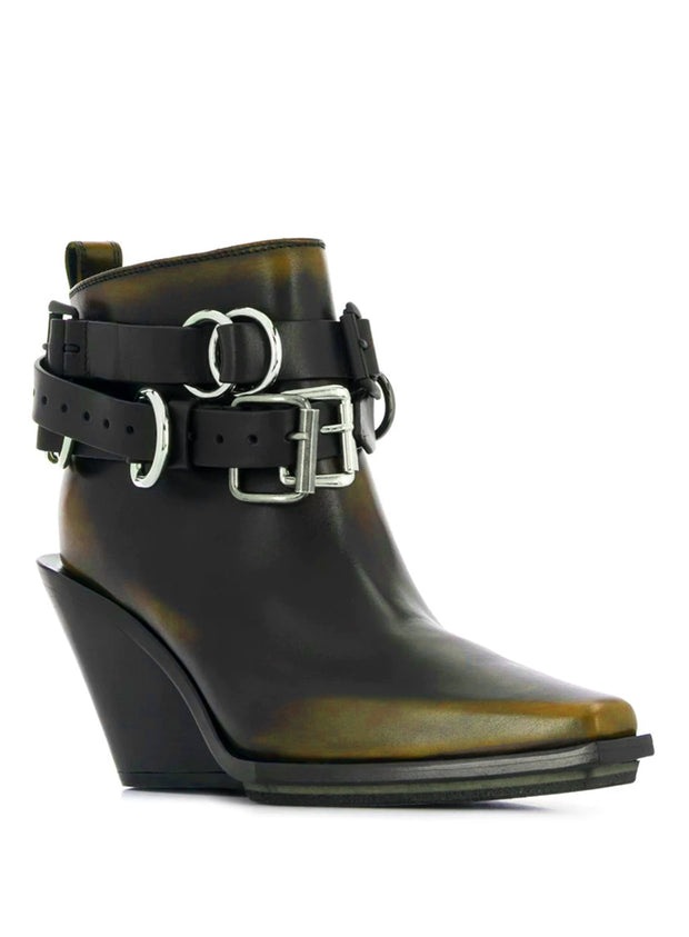 ANN DEMEULEMEESTER | Boots With Removable Buckle