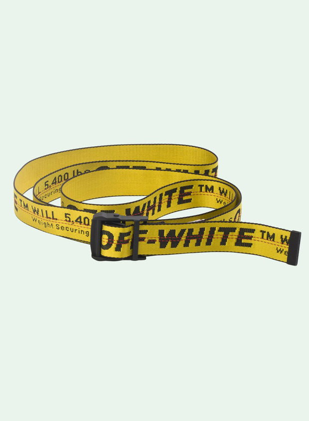 OFF-WHITE | Classic Industrial Belt, Yellow/Black