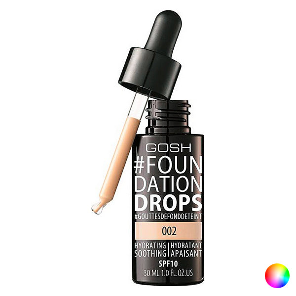 Υγρό Μaκe Up Foundation Drops Gosh Copenhagen SPF 10 (30 ml)