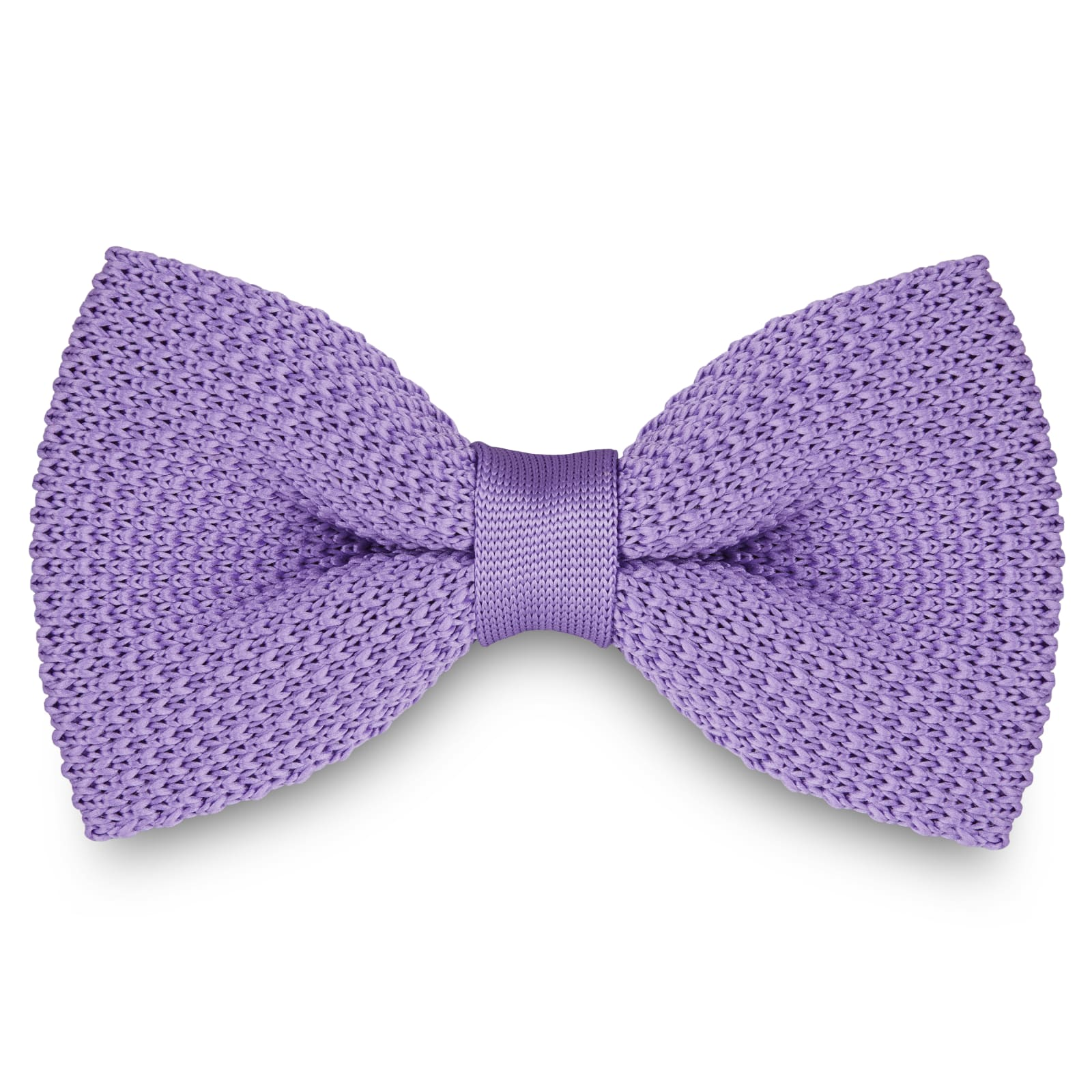LAVENDER KNITTED BOW TIES