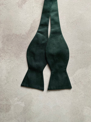 FORREST GREEN SELF TIE BOW TIES