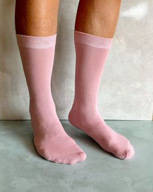 DUSTY PINK SOCKS