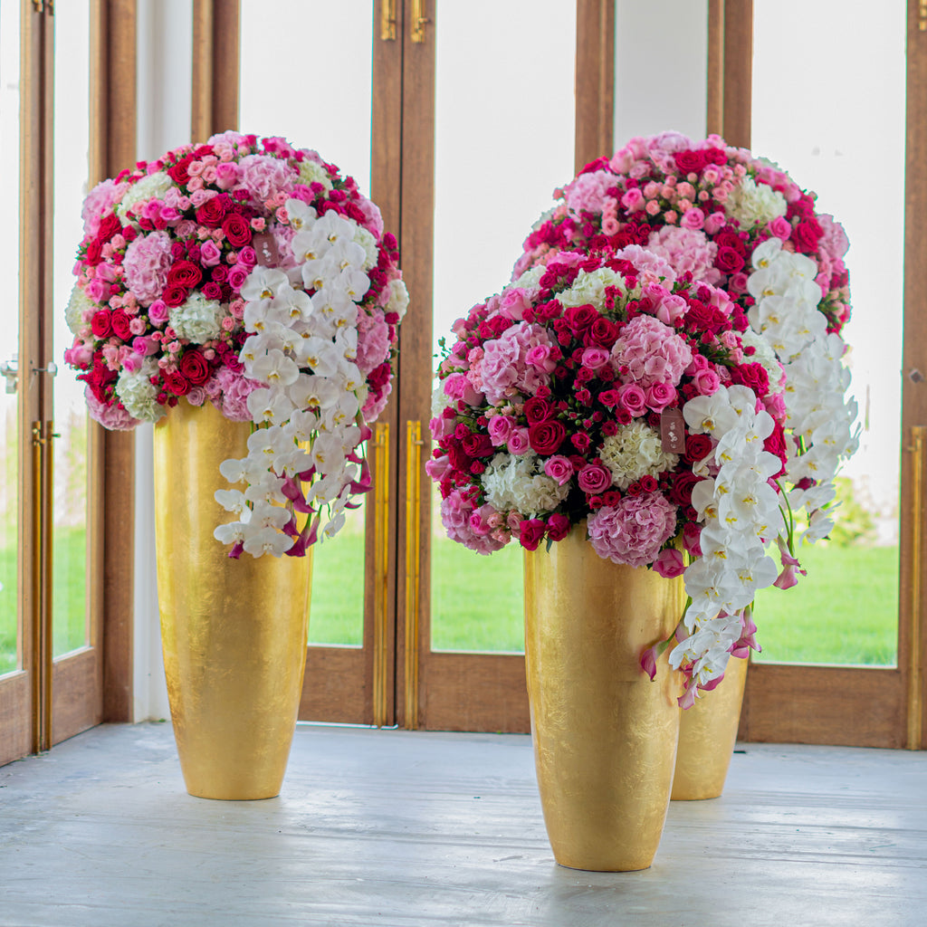Set of Big Vases - Wudflowers