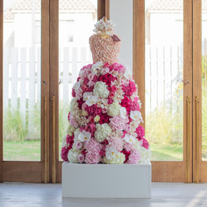 Gown Arrangement - Wudflowers
