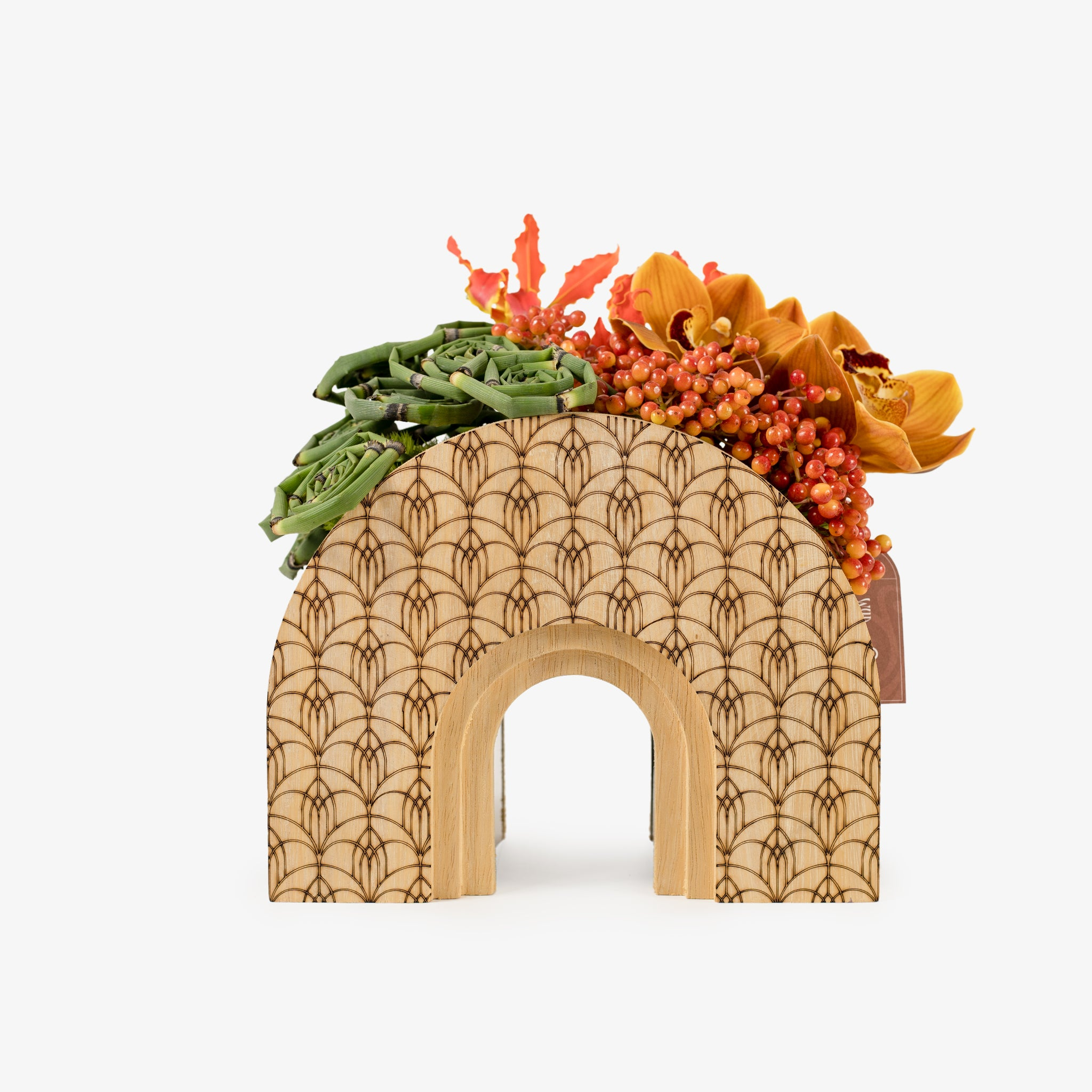 Wooden Arch - Wudflowers