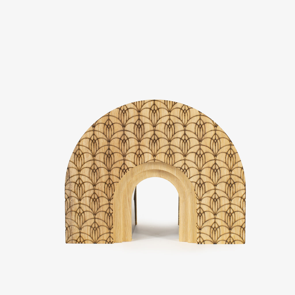Wooden Arch Small - Wudflowers