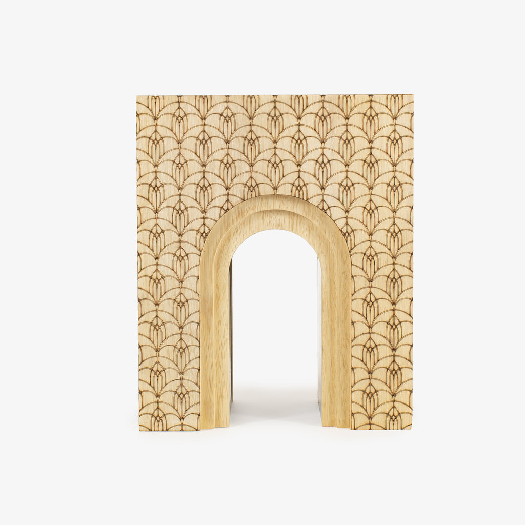 Wooden Arch Flat - Wudflowers