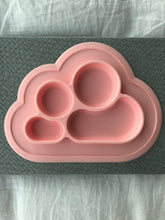 Load image into Gallery viewer, Silicone CLOUD PLATE - BUBBLEGUM
