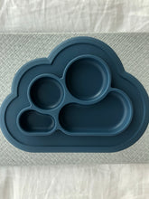 Load image into Gallery viewer, Silicone CLOUD PLATE - ROYAL NAVY