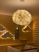 Upload the image to the gallery viewer, Bouffee Cloud Pendant Light White & Remote Control