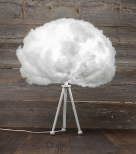 Bouffee Cloud table lamp (extendable leg: white) + remote control - Bouffee Cloud