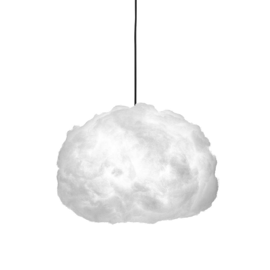 Bouffee Cloud Pendelleuchte (Kabelfarbe: schwarz) + Fernbedienung - Bouffee Cloud