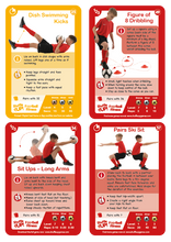 Load image into Gallery viewer, Shuffle Up! Football Fitness Game