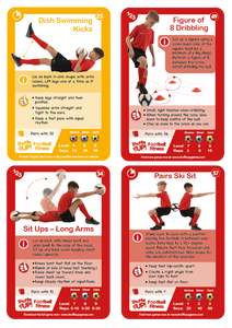 Shuffle Up! Football Fitness Game PRE-ORDER NOW