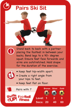 Load image into Gallery viewer, Shuffle Up! Football Fitness Game PRE-ORDER NOW