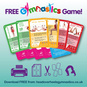 Shuffle Up! Gymnastics Edition - Downloadable Free Sample