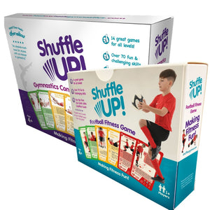 Shuffle Up Duo of Games – Gymnastics and Football