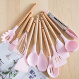 12 pcs utensils set meet all cooking needs