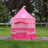Foldable girl play house