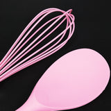 Pink Solid Spoon