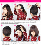 How to wear the wigs