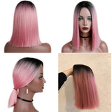 Pink wigs For Black Women's