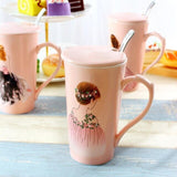 Pink Coffee Cup for Girls