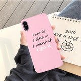 iPhone x cover pink