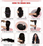 How to wash wigs