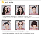 How to wear wigs