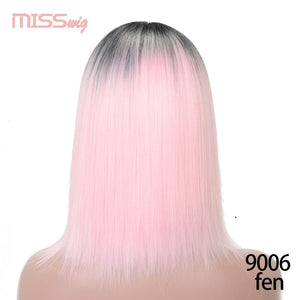Pinlk Synthetic Hair