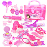 Pink Princess Hairdressing Plastic Toy