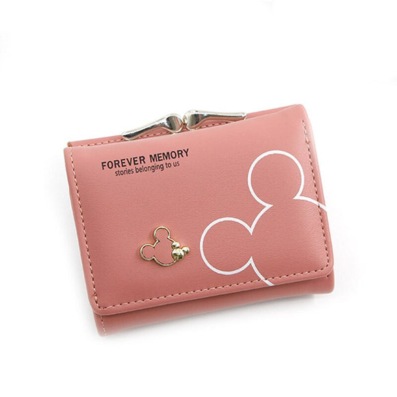 Pink girls wallet