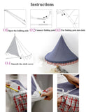 kids tent install instruction