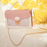 Pink and white cute handbag