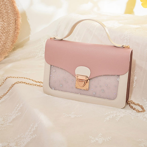 Pink lady summer handbag