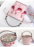 Pink handbags for girl