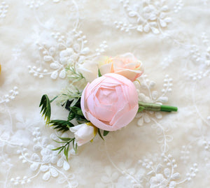 Pink flower for bride