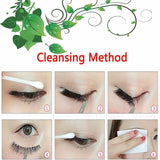 Eyelashes Cleaning method after use