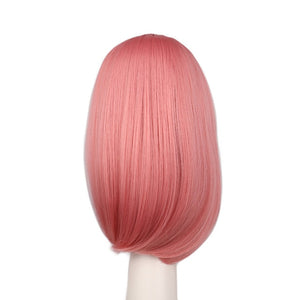 Pink 40 Cm Synthetic Hair