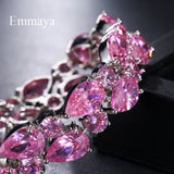 Pink crystal Jewelry for lady