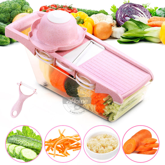 Pink kitchen grater