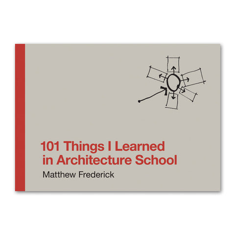 101 Things I Learned In Architecture School - Hardcover Book