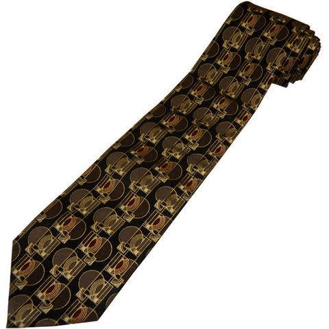 Frank Lloyd Wright Museum Gates Tie - Black