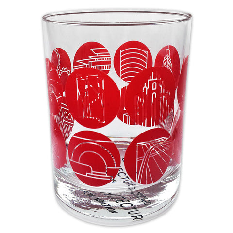 CAF 50th Anniversary Glass Tumbler