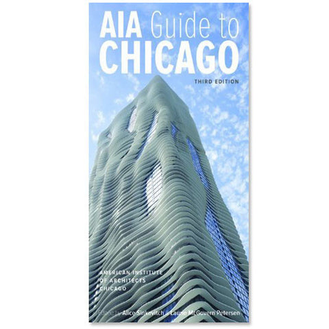 AIA Guide to Chicago (3rd Edition) - Paperback Book