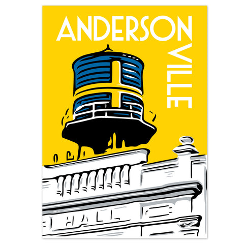 Andersonville Neighborhood Poster