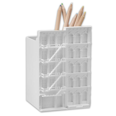 Architecture Pencil Cup - White